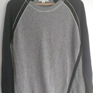 White + Warren Cashmere Cross Front Sweater